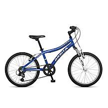 image of Orbita Shark 20in Wheel 6 Speed Lightweight Alloy Front Suspension Mountain Bike - Blue