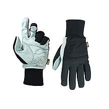 image of Kuny's Hybrid-260 Suede Palm Knit Wrist Gloves