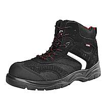 image of Scan Bobcat Low Ankle Hiker Boot Black