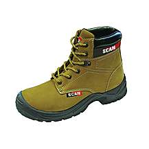 image of Scan Cougar Nubuck Safety Boot S1p