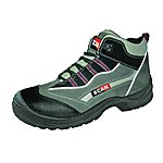 image of Scan Jaguar Grey Red Safety Hiker Boots