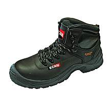 image of Scan Lynx Brown Safety Boots S1p