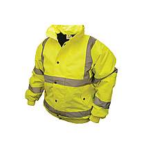 image of Scan Hi-vis Bomber Jackets - Yellow