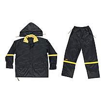 image of Kuny's R103 3-Piece Black Nylon Suit - M