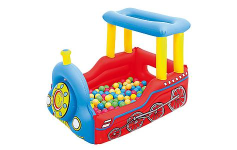 image of 54 x 39 x 37 Train Play Center