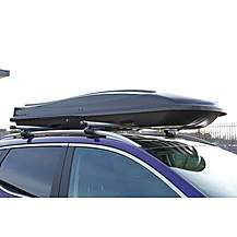 image of Summit 440 Litre Capacity Roof Box In Gloss Black Finish Sum-854