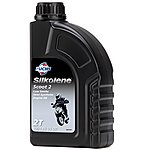 image of Silkolene Scoot 2 Semi Synthetic 2 Stroke Engine Oil For Scooters & Mopeds - 1 Litre