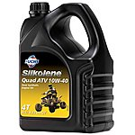 image of Silkolene Quad Atv 10w-40 Semi-synthetic 4t Engine Oil - 4 Litres