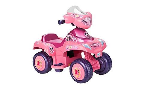 image of Feber Famosa Kids Electric 6v Quad Minnie Bowtique - Pink