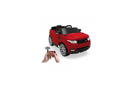 image of Feber Range Rover Sports 6v Ride On Car With Smartphone Controller - Red