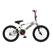 image of Rooster Radical 18in Bmx Freestyle Bike White/black/red