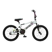 image of Rooster Radical 18in Bmx Freestyle Bike White/black/purple