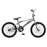 image of Rooster Big Daddy 20in Bmx Freestyle Bike Se Chrome/brown