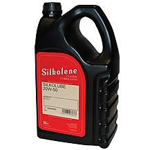 image of Silkolene Classic Silkolube 20w-50 Mineral Engine Oil For Cars & Motorbikes - 5 Litres