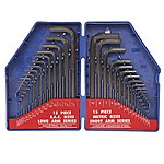 image of Workpro 30 Piece Long Arm Hex Key Set