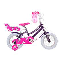 image of Raleigh Songbird 12in Girls Bike Purple