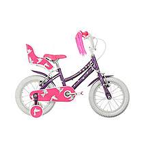 image of Raleigh Songbird 14in Girls Bike Purple