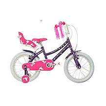 image of Raleigh Songbird 16in Girls Bike Purple