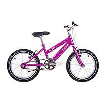 image of Raleigh Krush 16in Girls Bike Starry Pink