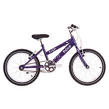 image of Raleigh Krush 18in/11in Girls Bike Starry Purple
