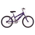 image of Raleigh Krush 18in/11in Girls Bike Starry Purple