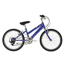 image of Raleigh Krush 20in/11in Girls Bike 6sp Starry Lilac