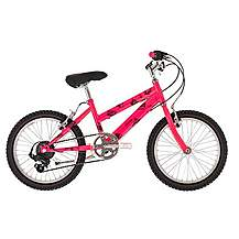 image of Raleigh Beatz 18in/11in Girls Bike 6sp Pink