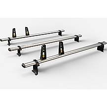 image of 3 Aluminium Roof Bars For Citroen/fiat/peugeot 1995-2007 (incl.fitting Kit)zvg86