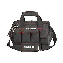 image of Workpro 12in Wide Mouth Tool Bag