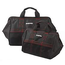 image of Workpro 2 Piece Tool Bag Combo