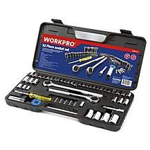 Workpro 52 Piece Socket Set
