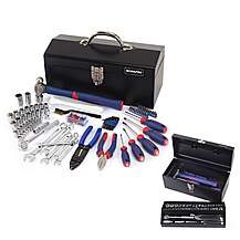 image of Workpro 160 Piece Mechanic Tool Kit