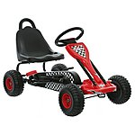 image of Kids Go Kart - Black & Red