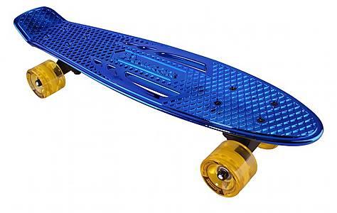 image of Karnage Chrome Retro Skateboard