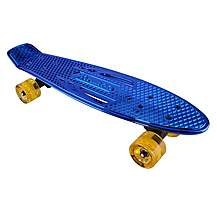 image of Karnage Chrome Retro Skateboard