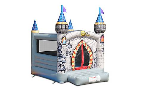 image of Medieval Commercial Bouncy Castle Of Ancient Times