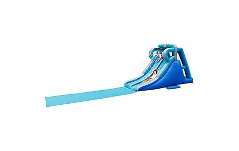 image of Kamikaze 16ft Double Inflatable Slip And Slide Water Slide