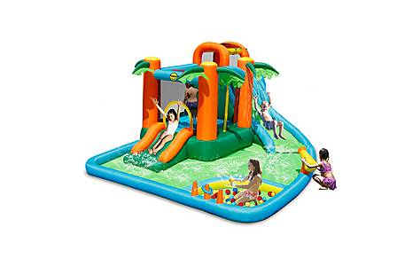 image of The Oasis 7 In 1 14ft Bouncy Castle Waterpark