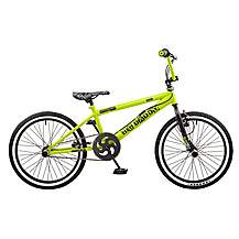 image of Rooster Big Daddy 20in Bmx Freestyle Bike Black/green