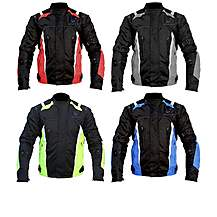 Black Turbo Textile Jacket