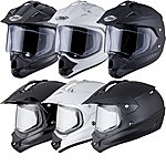 image of Thh Tx-13 Plain Dual Sport Motocross Helmet