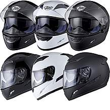 image of Thh Ts-80 Plain Full Face Motorcycle Helmet