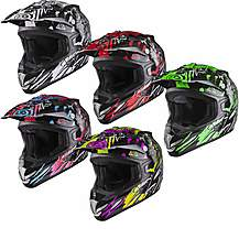 image of Shox Mx-1 Nightmare Motocross Helmet