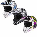 Shox Mx-1 Scream Motocross Helmet