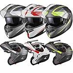 image of Black Optimus Sv Tour Flip Front Motorcycle Helmet