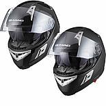 G-mac Flight Plain Motorcycle Helmet