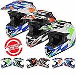 image of Shox Mx-1 Delta Motocross Helmet