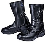 image of Black Stealth Evo Motorcycle Boots