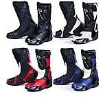 image of Black Zero Motorcycle Boots