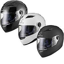 Agrius Rage Solid Motorcycle Helmet